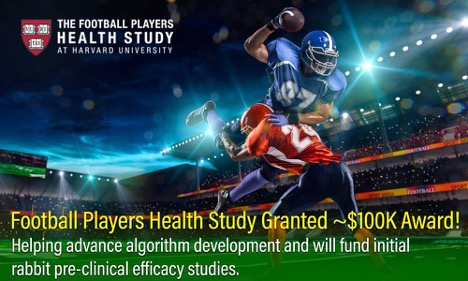 Football Players Health Study Tech Innovation Receives Funding